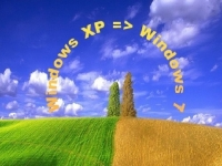 Windows XP до Windows 7